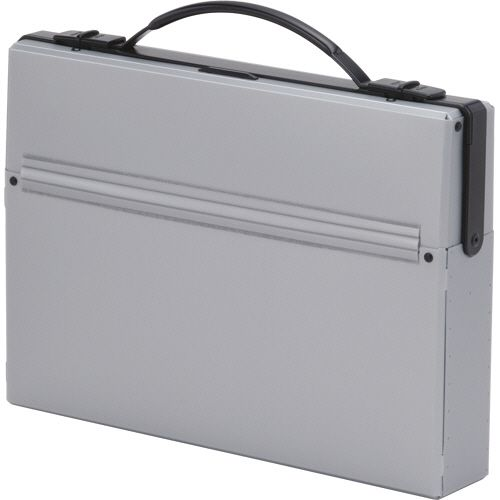 【キャッシュレス5%還元】【送料無料】【法人(会社・企業)様限定】LIHIT LAB ダレスバッグ A4 収納幅55mm シルバー 1セット(5個)
