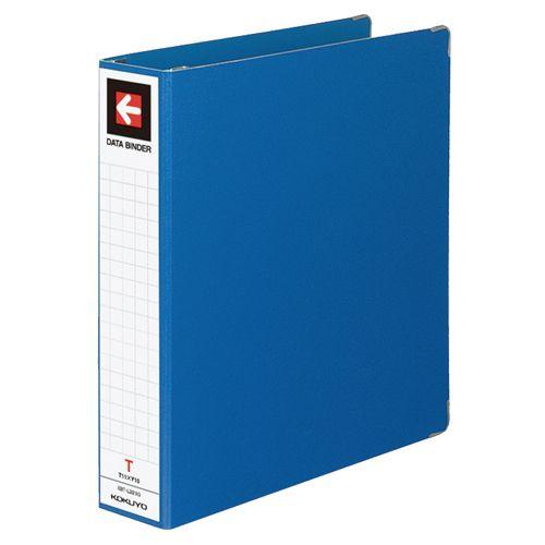 コクヨ データバインダーT(バースト用・ワイドタイプ) T11×Y10 22穴 450枚収容 青 1セット(20冊)