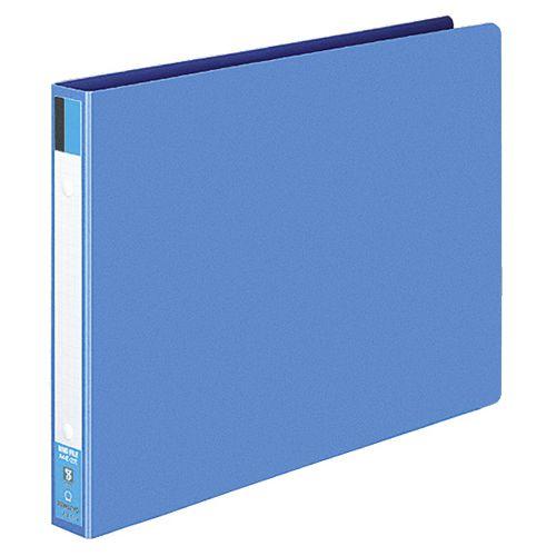 コクヨ リングファイル 色厚板紙表紙 A4ヨコ 2穴 170枚収容 背幅30mm 青 1セット(40冊)