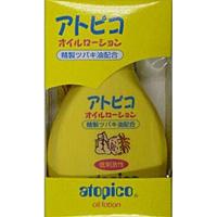【キャッシュレス5%還元】大島椿 アトピコ オイルローション 120ml ×48個【イージャパンモール】
