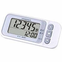 山佐時計計器 ポケット万歩 らくらくまんぽ ホワイト EX-300 ×120個【イージャパンモール】