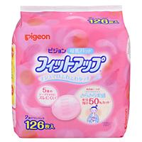 ピジョン ピジョン 母乳パッド フィットアップ 126枚入 ×16個【イージャパンモール】