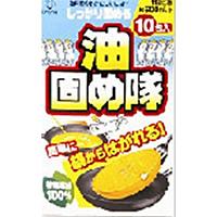 【キャッシュレス5%還元】コットン・ラボ 油固め隊 (10包入) ×80個【イージャパンモール】