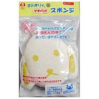 日本パフ キトポリィ やわらかスポンジ いぬ ×120個【イージャパンモール】