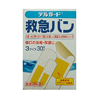 阿蘇製薬 デルガード 救急バン半透明 3サイズ30枚 ×200個【イージャパンモール】