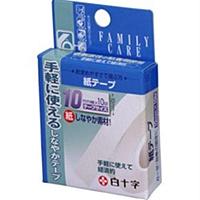 白十字 ファミリーケア(FC) 紙テープ 10mm×10mサイズ ×400個【イージャパンモール】