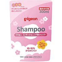 ピジョン ピジョン コンディショニング泡シャンプー やさしいフローラルの香り 詰めかえ用 300ml ×30個【イージャパンモール】