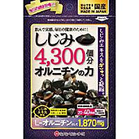 ミナミヘルシーフーズ しじみ4300個分オルニチンの力 240粒 ×40個 イージャパンモール 赤字超特価,セール