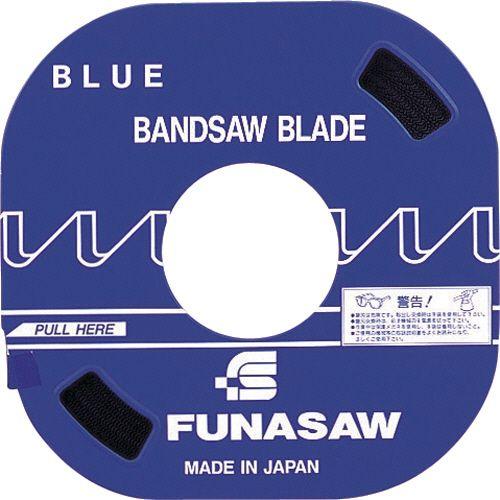【キャッシュレス5%還元】フナソー コンターマシン用ブレード 汎用タイプ ブルー 幅10mm 山数14 1本