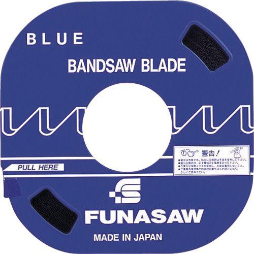 大切な フナソー コンターマシン用ブレード 汎用タイプ ブルー 幅8mm 山数14 1本, 川越町 d8eb6a94