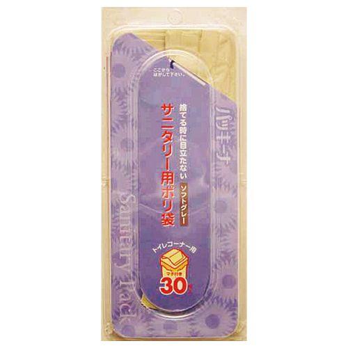 日本サニパック パッキーナ サニタリー用ポリ袋 1セット(3000枚:30枚×100パック)