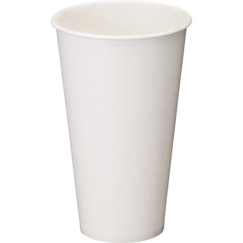 【キャッシュレス5%還元】【送料無料】【法人(会社・企業)様限定】日本デキシー 両面ラミカップ ホワイト 420ml(14オンス) 1セット(840個:7個×120パック)