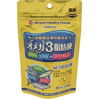 ミナミヘルシーフーズ(株) オメガ3脂肪酸 31日分 62球 ×48個【イージャパンモール】