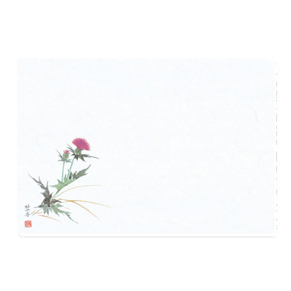 テーブルマット 19あざみ 100 (1000枚)【イージャパンモール】