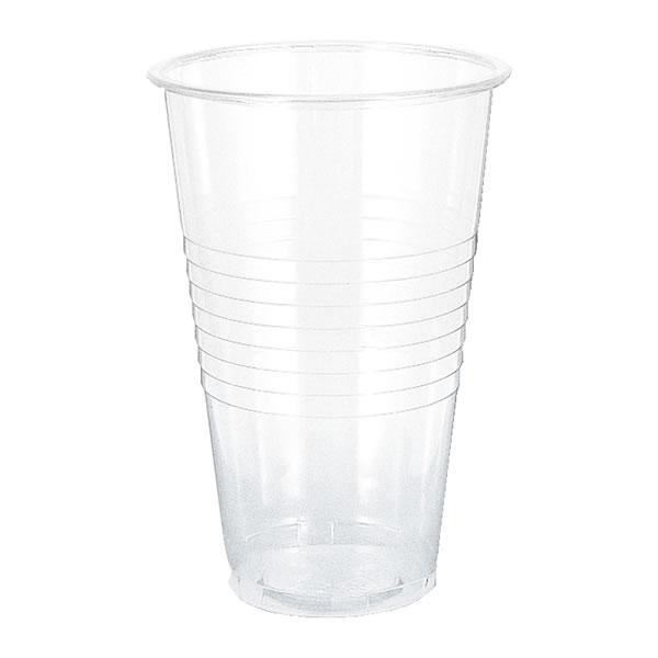 【キャッシュレス5%還元】Hプラスチックカップ18 540ML (1000個)【イージャパンモール】