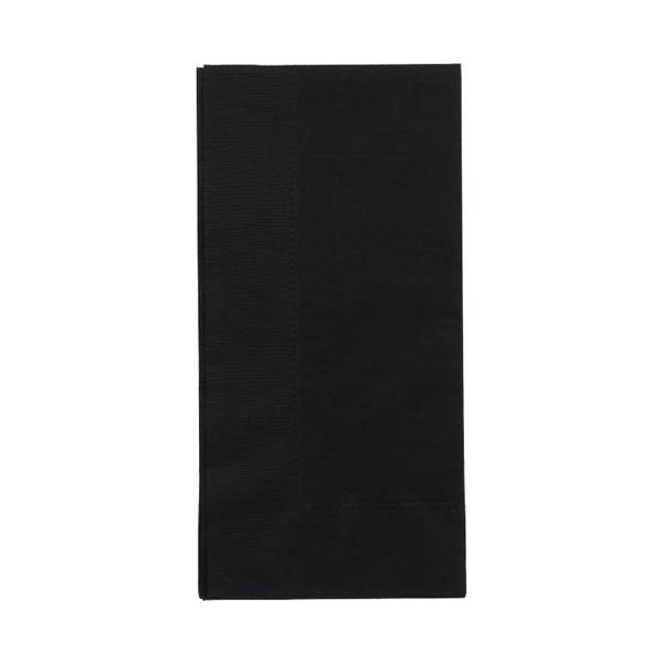 45cm 2plyナフキン ブラック (2000枚)【イージャパンモール】