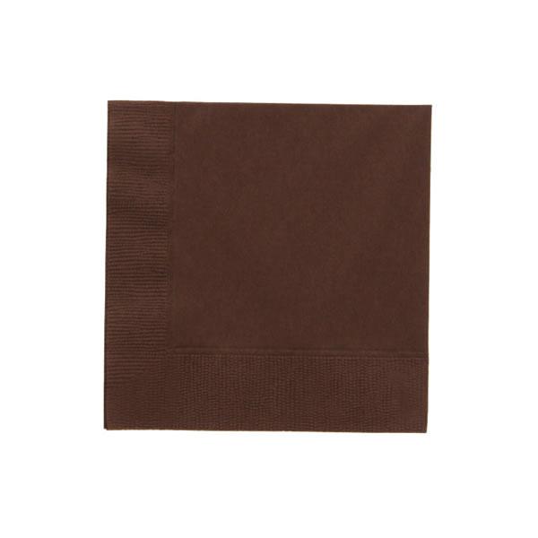 25cm 2plyナプキン チョコレート (3000枚)【イージャパンモール】