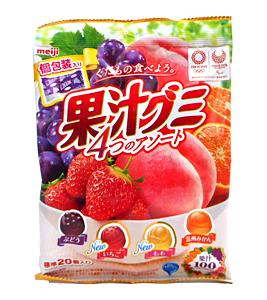 フルーツの味が美味しい!果実感がたっぷりな大人向けグミのおすすめ教えて!