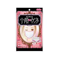 【キャッシュレス5%還元】ユニ・チャーム 小顔にみえマスク 小さめ 7枚 ×80個【イージャパンモール】