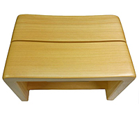 星野工業 高級日光桧 匠の風呂椅子(癒し)【代引不可】【日用品館】