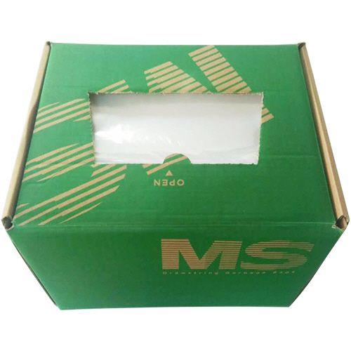 【キャッシュレス5%還元】【送料無料】【法人(会社・企業)様限定】明光商会 シュレッダー用ゴミ袋 MSパック Mサイズ 紐付 1箱(200枚)