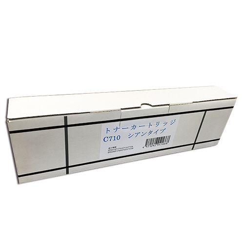 【キャッシュレス5%還元】ノーブランド SPトナー C710 汎用品 シアン 1個