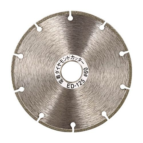 TRUSCO 電着ダイヤモンドカッター 刃厚1.6 穴径22mm 1枚