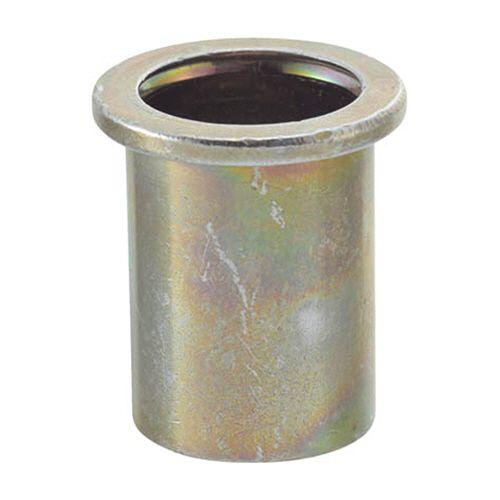 【キャッシュレス5%還元】TRUSCO スチール クリンプナット(平頭) 摘要ねじM8×1.25 1箱(500個)