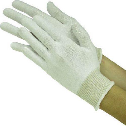 【キャッシュレス5%還元】東和コーポレーション 耐切創手袋 カットレジストインナー L 1パック(10双)