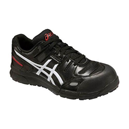【キャッシュレス5%還元】アシックス 安全靴 CP103ウィンジョブ ブラック×ホワイト 25.5cm 1足