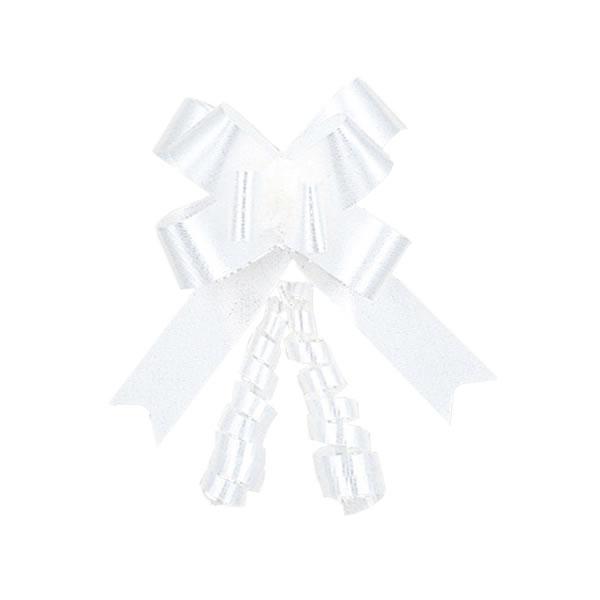 【キャッシュレス5%還元】リボンボウ ホワイト 22MM (20箱)【イージャパンモール】