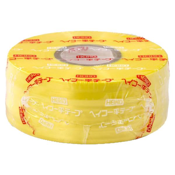 ヘイコウ 平テープ 黄色 (30巻)【イージャパンモール】