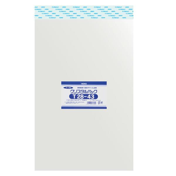 OPPクリスタルパック T28-43 (1000枚)【イージャパンモール】