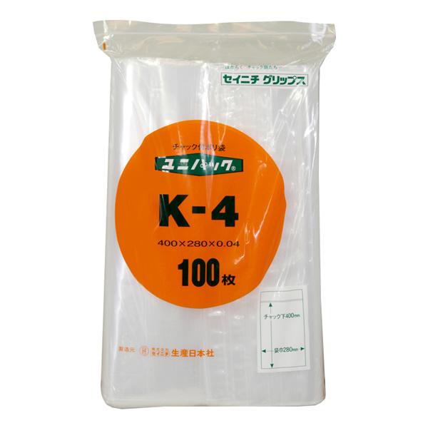 ユニパック K-4 (1500枚)【イージャパンモール】
