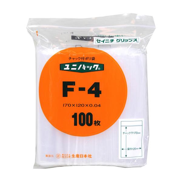 【キャッシュレス5%還元】ユニパック F-4 (6000枚)【イージャパンモール】