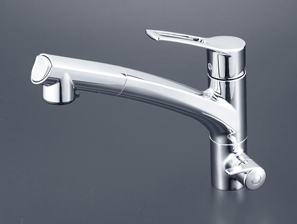 KVK KM5061NSCCK 浄水シングルシャワー付混合栓【イージャパンモール】