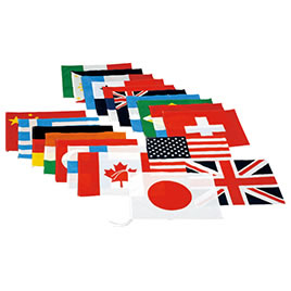 【キャッシュレス5%還元】万国旗20【返品・交換・キャンセル不可】【イージャパンモール】