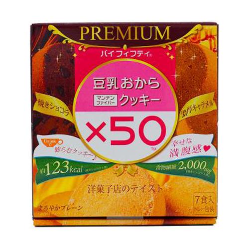 マルマン(株) 豆乳おからマンナンファイバークッキーPREMIUM  6個×7袋 ×24個【イージャパンモール】