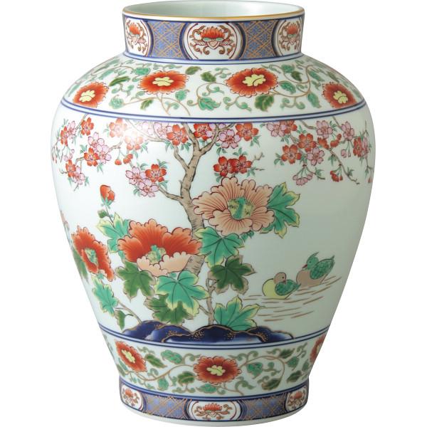 【送料無料】芙蓉桜 壷型花瓶【代引不可】【ギフト館】