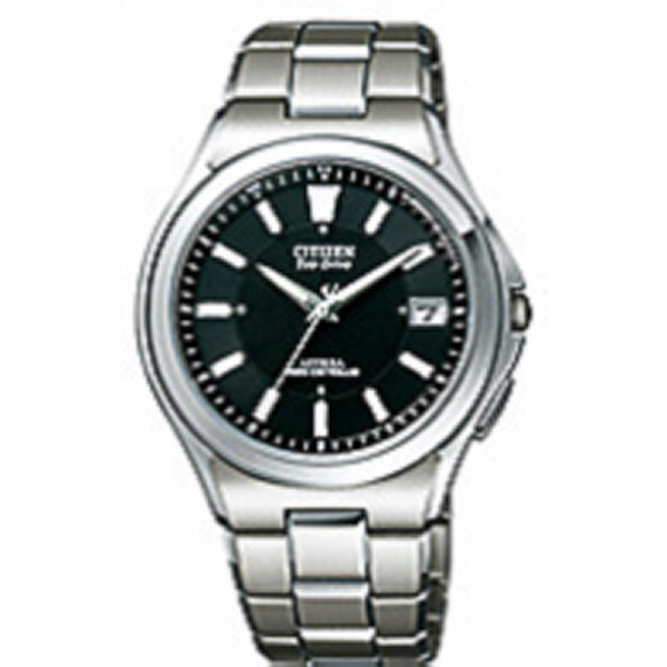 【送料無料】シチズン アテッサ メンズ電波腕時計 ブラック ATD53-2841【代引不可】【ギフト館】