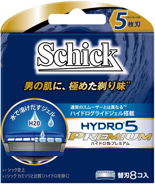シック・ジャパン ハイドロ5プレミアム 替刃 8コ入 ×288個【イージャパンモール】
