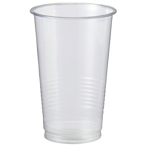 【キャッシュレス5%還元】【送料無料】【法人(会社・企業)様限定】リサイクルPETカップ 420ml(14オンス) 1セット(900個:50個×18パック)