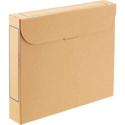 【キャッシュレス5%還元】【送料無料】【法人(会社・企業)様限定】ファイルボックス A4 背幅53mm ナチュラル 1セット(50冊:5冊×10パック)