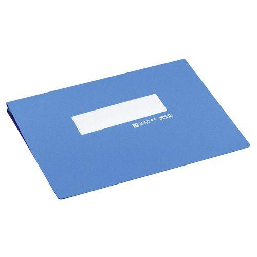 コクヨ データファイルA アンバースト用 Y11?12×T8.5 1000枚収容 青 1セット(10冊)