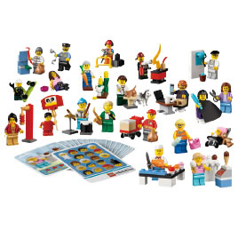 レゴ 新はたらく人形セット 45022【返品・交換・キャンセル不可】【イージャパンモール】