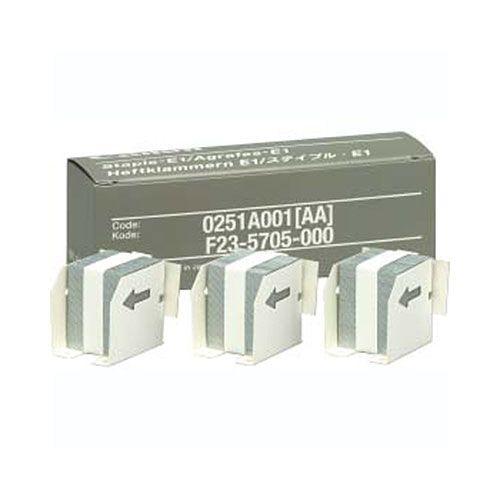 【キャッシュレス5%還元】CANON ステイプル・E1 ステイプル針 5000本 1箱(3個)