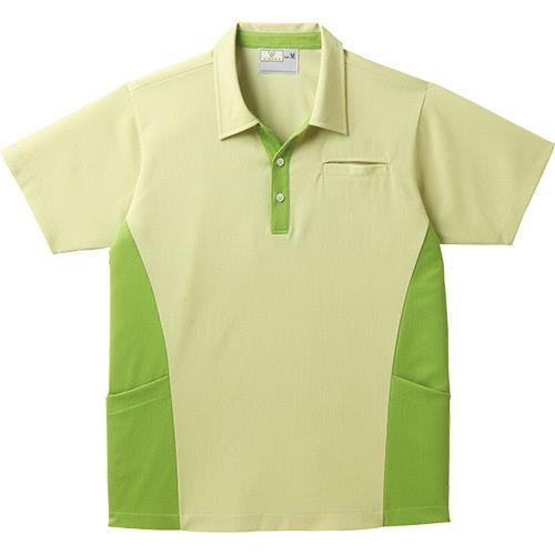 トンボ スキッパーシャツ CR155 グラスグリーン 4Lサイズ 1着
