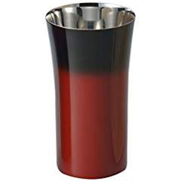 【キャッシュレス5%還元】食楽工房 漆磨 シングルカップS(赤彩) SCS-S602【イージャパンモール】