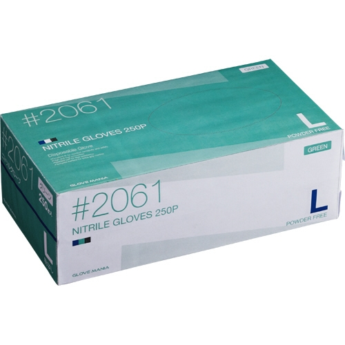 100%正規品 川西工業 L 川西工業 ニトリル 粉なし 使いきり手袋 粉なし グリーン L 1セット(2500枚:250枚×10箱), ぎふポロ まごころギフトを全国へ:2e90544e --- canoncity.azurewebsites.net