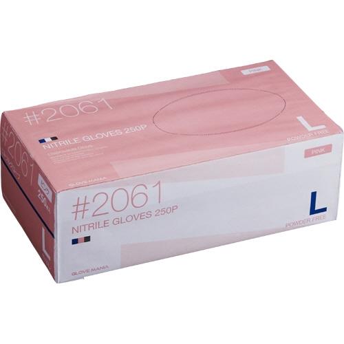 買得 川西工業 ニトリル 使いきり手袋 粉なし ピンク ピンク 川西工業 L L 1セット(2500枚:250枚×10箱), グラスマーケット:0ecaed26 --- canoncity.azurewebsites.net